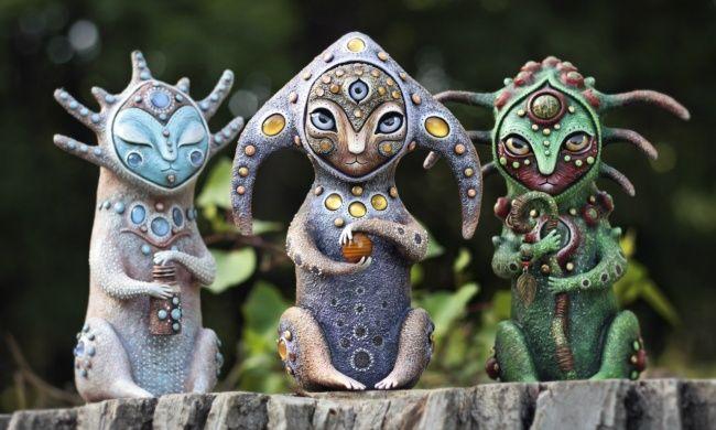 Инопланетные игрушки от Марьяны Копыловой