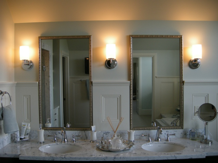Gallery Website Vintage inspired his and her mirrors House of Mirrors Calgary Custom MirrorsFramed MirrorsVanity