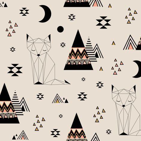 Distant Planet fabric by kimsa on Spoonflower - custom fabric