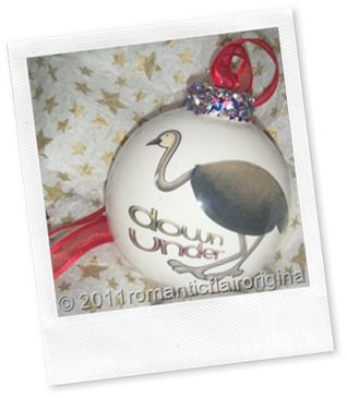 """Funky Australiana fun and lovable Personalized Christmas Baubles……    An Australian Christmas Ornament designed and made in Australia.    These Baubles are        designed      made in Australia       come with either a      """"Merry Christmas"""" Message      or """"Greetings from Australia"""" Message      one can also asks to have the opportunity for the baubles to be personalized to one's needs."""