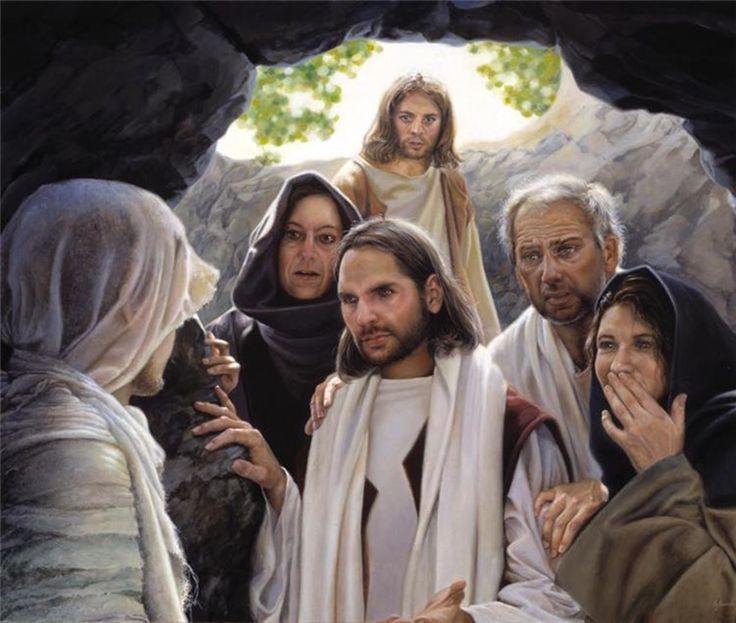 Picture of I Am The Resurrection by Liz Lemon Swindle