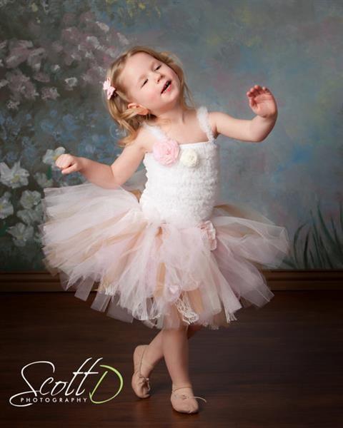 Новогодний костюм балерины своими руками для девочки
