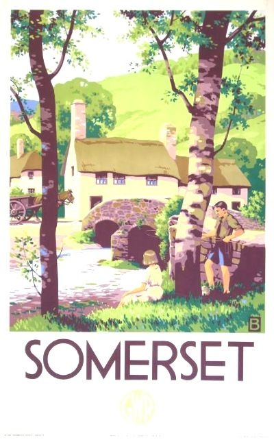 Love these classic Somerset posters...