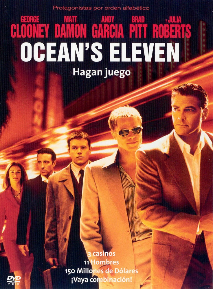 Ocean's eleven [Vídeo] / directed by Steven Soderbergh ; screenplay by Ted Griffin ; produced by Jerry Weintraub. - Madrid : Warner Home Video, 2002
