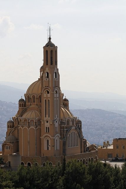 St. Paul Catherdral in Harissa, Lebanon