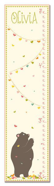 Capture all of those special milestones in style with our Personalized Growth Charts.