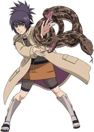 Anko Mitarashi (みたらしアンコ, Mitarashi Anko) is a tokubetsu jōnin-level kunoichi of Konohagakure. Anko was once the student of Orochimaru.