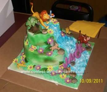Birthday Cake Lion King Image Inspiration Of Cake And Birthday - Lion King Wedding Cake