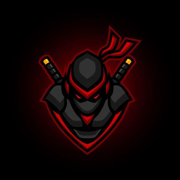 Ninja E Sports Logo Gaming Mascot Ninja Logo Art Logo Game Logo Design