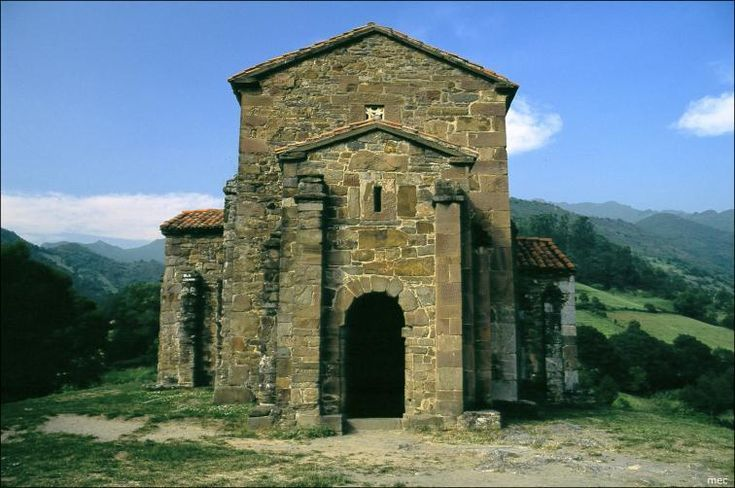 SANTA CRISTINA DE LENA (Pola de Lena) - Una iglesia prerrománica única de mediados del siglo IX declarada Patrimonio de la Humanidad por la UNESCO en 1985