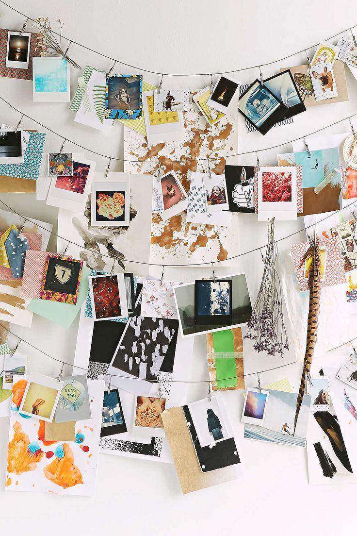 Best 25+ Photo string ideas on Pinterest | Polaroid wall, Instax ...