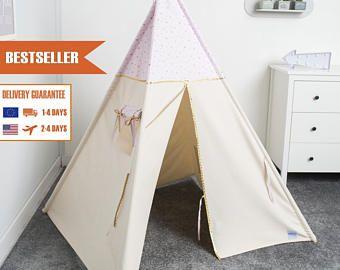 Kinder Tipi Zelt, Kinder-Tipi-Zelt, Tipi, Tipi für Mädchen, indian Tipi-Zelt, Prinzessin zu spielen