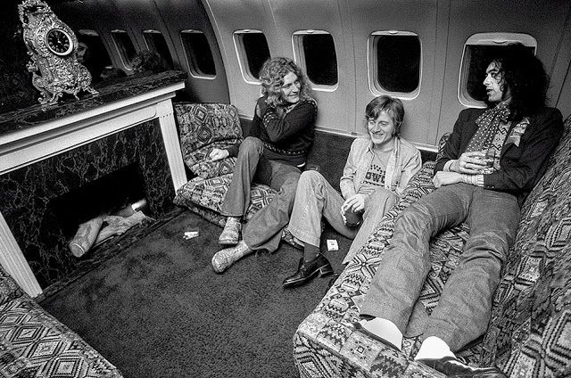 vintage everyday: The Stories Behind Rarely Seen and Intimate Photos of Led Zeppelin from Their Early Days
