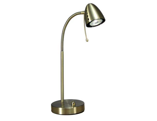 Aneta - STAVANGER bordlampa antik 50W GU10, finns i flera färger, #BRIGHT123 #Brightbelysning