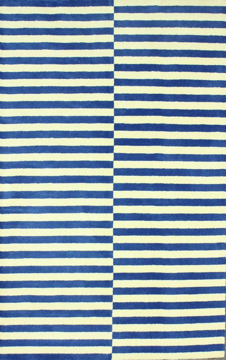 Living room rugs usa santa ana striped in grey sm dusk blue rug