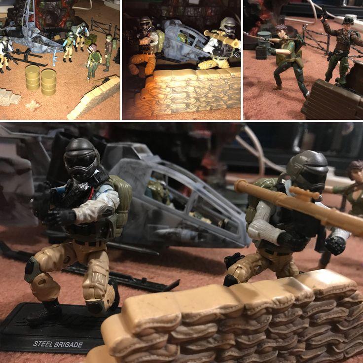 A little G.I. Joe Steel Brigade fun, love these guys!