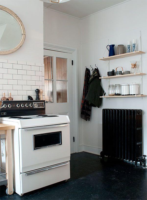 X Floor Tile Kitchen
