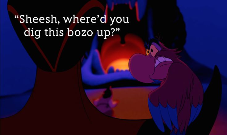 An Iago Quote for Every Occasion | Oh My Disney, Oh, Snap!