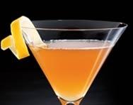 BOURBON NECTAR  1½ oz. Woodford Reserve®  1 oz. Honey syrup (1 part honey, 1 part water)  ½ oz. Fresh lemon juice  Shake and strain into a cocktail glass. Garnish with a lemon twist.