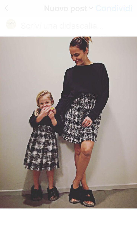 Gonna mamma & figlia NoMad di NomadHandmadeShop su Etsy https://www.etsy.com/it/listing/471888136/gonna-mamma-figlia-nomad