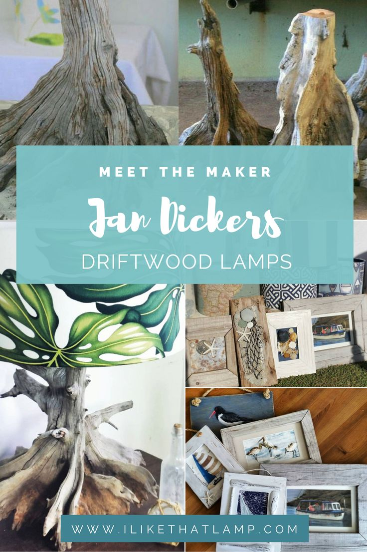 Driftwood lamp 11 diy s guide patterns - Meet The Maker Jan Dickers Driftwood Lamps Designer