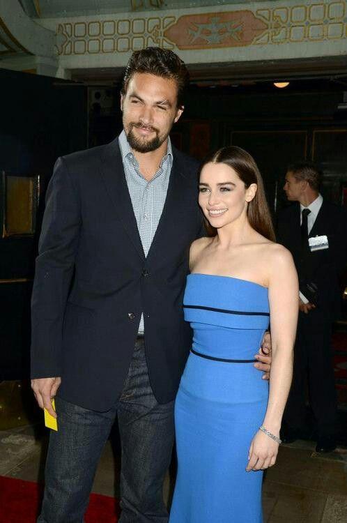 Jason Momoa & Emilia Clarke | Jason Momoa | Pinterest ...