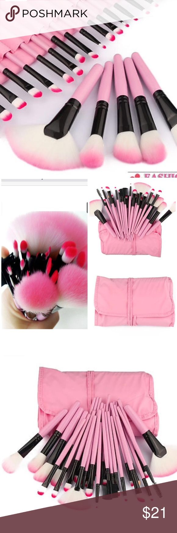 Selling this 32pcs Makeup Brush Set and Pouch Bag on Poshmark! My username is: ponylesles. #shopmycloset #poshmark #fashion #shopping #style #forsale #No Brand #Other