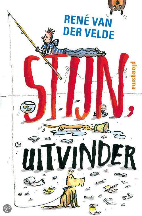 Rene van der Velde - Stijn, uitvinder || Stijn heeft een grote ontdekking gedaan: hij is uitvinder! Voortaan lost hij elk probleem op met een geweldige uitvinding! Moet hij de hond uitlaten terwijl het regent? Niks aan de hand! Daar vindt Stijn iets heel handigs voor uit. En vervelende klusjes knapt hij op zonder er zelf echt iets voor te doen. || Op tiplijst kinderjury 2013 || www.bol.com/nl/p/stijn-uitvinder/1001004011856055/