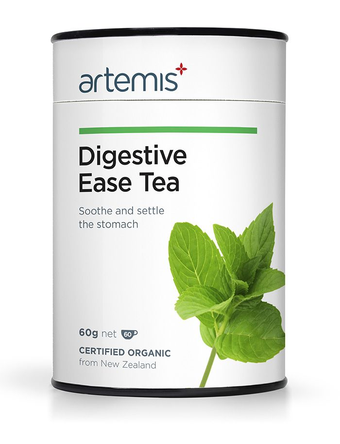 Digestive Ease Tea helps to relieve digestive issues like indigestion, stomach pain and nausea. It works quickly and tastes delicious. Certified Organic, from NZ.