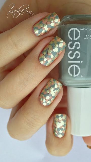 Pinned by www.SimpleNailArtTips.com SIMPLE NAIL ART DESIGN IDEAS - Simple Dotticure #nail #nails #nailart