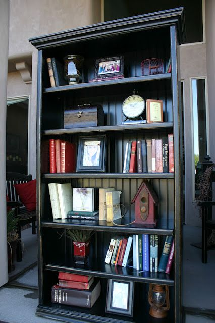 Doubletake Decor: A Few Black Bookshelves