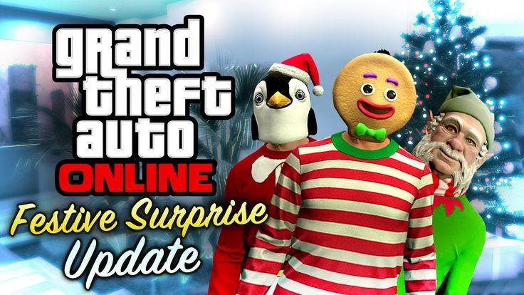 GTA Online gets Festive Surprise 2015 - http://gamesleech.com/gta-online-gets-festive-surprise-2015/