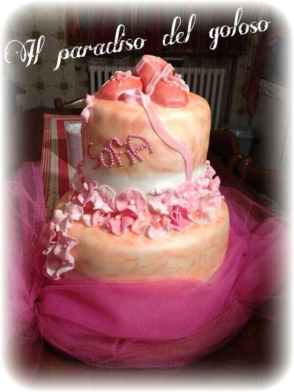la mia prima torta in pdz per una ballerina #CUPCAKE #halloween #solocosebuone #bakery #torte #cake #yummy #sugar art #patisserie #desserts #sweettooth #chocolate #eat #yum #delicious #tasty #hungry #yum #icecream #foodpics #TagsForLike