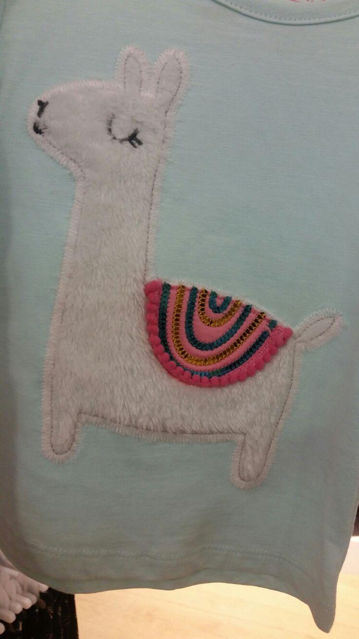 Llama girls tshirt #debenhams