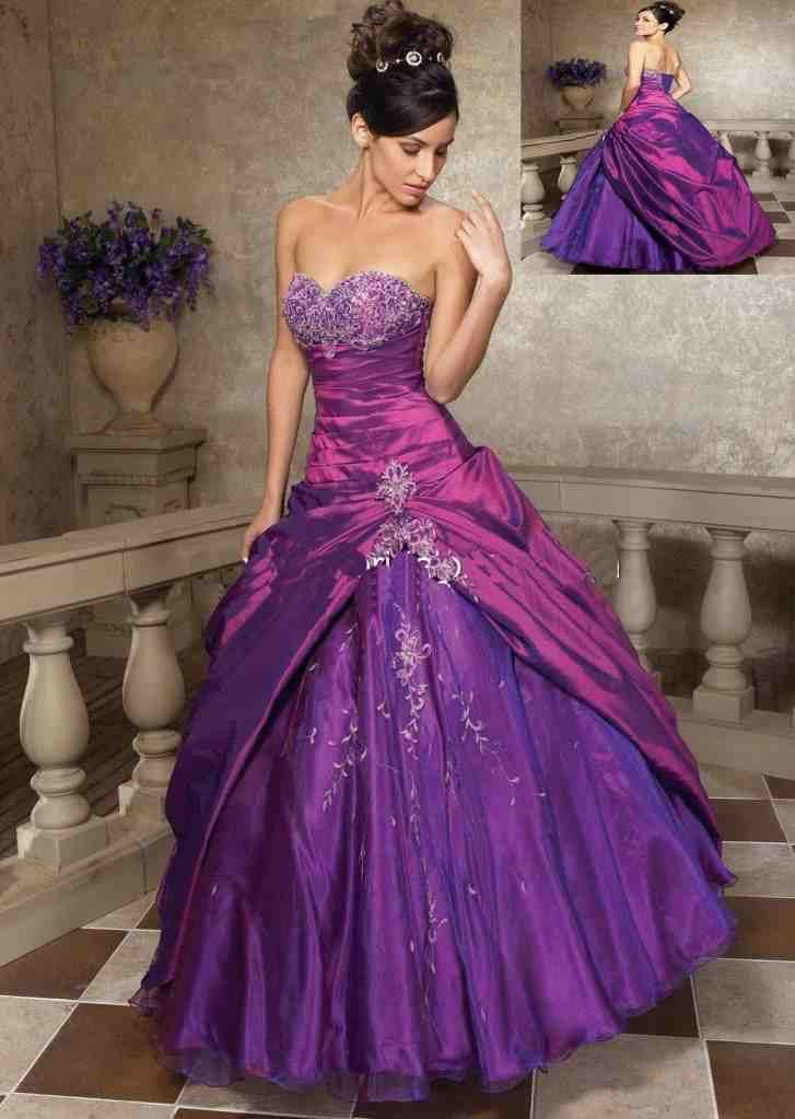 17 best ideas about purple and silver wedding on pinterest for Purple and grey wedding dresses