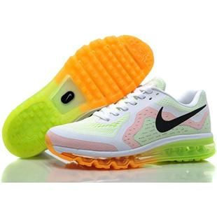 Nike Air Max+ 2014 Mens Shoes in White Green and Orange, cheap Nike Air Max  If you want to look Nike Air Max+ 2014 Mens Shoes in White Green and Orange,  ...