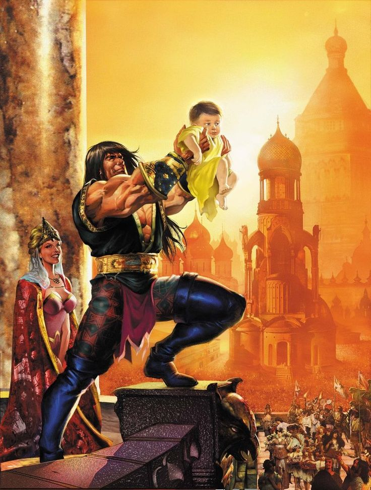 53 Best Images About Art : Fantasy : Conan And Hyborian