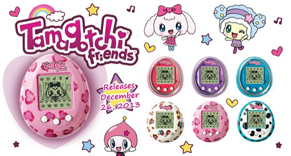 The good old Tamagotchis are officially back.