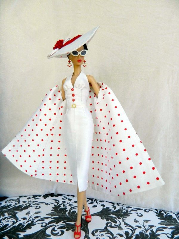 OOAK 1950's fashion for Silkstone Barbie Fashion Royalty Dolls By Joby Originals