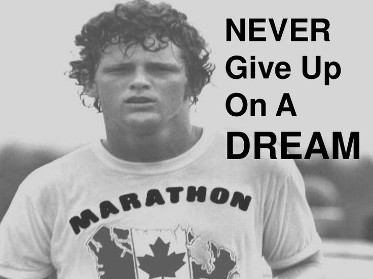 terry-fox-powerpoint by Robert  Sanders via Slideshare