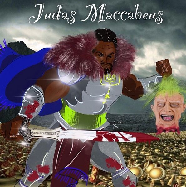 #Judas #Maccabeus #Art by Bishop Nathanyel #Artist #israelunitedinchrist #israelunited #theIsraelites #Christ #Jesus #JesusChrist #ChristJesus #Messiah  #BlackPeople #Black #BlackJesus #BlackChrist #bible #study #doctrine #teaching #Israelite #Israelites #Hebrew #HebrewIsraelite