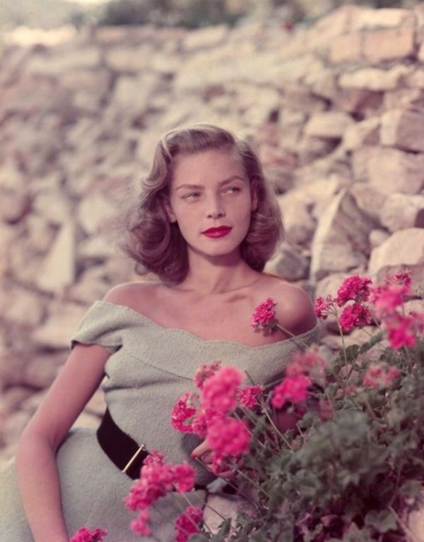 Lovely Lauren Bacall, 1940s