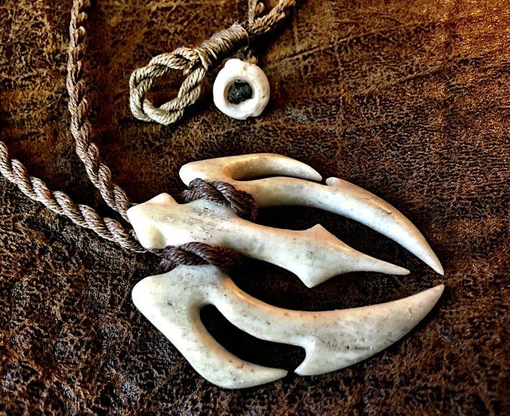 Sperm Whale Jaw Bone Honu Makau carving by Master Carver Ben Muti, Makau Nui, Hawai'i.