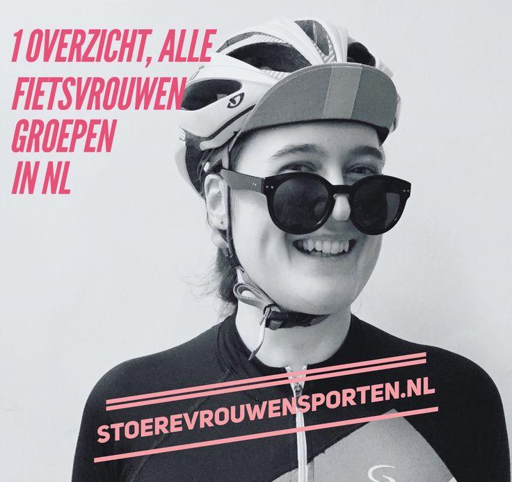 Alle fietsgroepen voor vrouwen en vrouwen trainingsgroepen op een rij. Vanaf nu kan je zo zien waar je mee kan trainen.