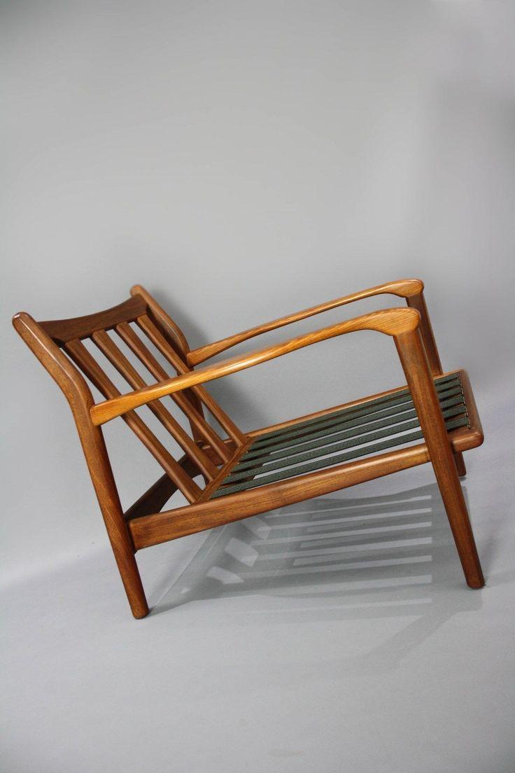 Modern savonarola chair - Mid Century Toothill Heals Uk Original Teak Armchair Retro Vintage Lounge Chair Danish Era 360