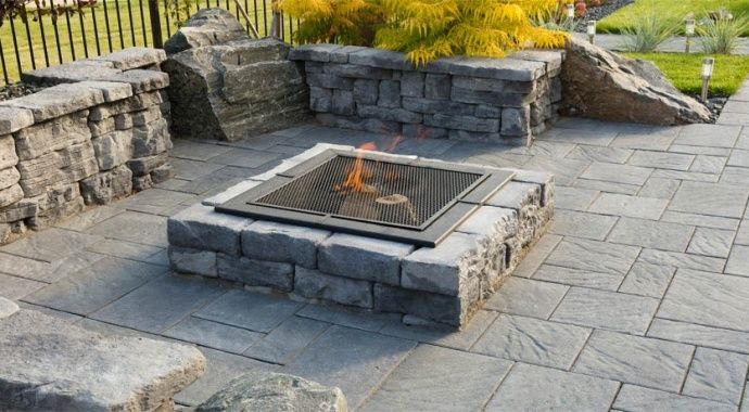79 Best Outdoor Fire Pits And Fireplaces Images On