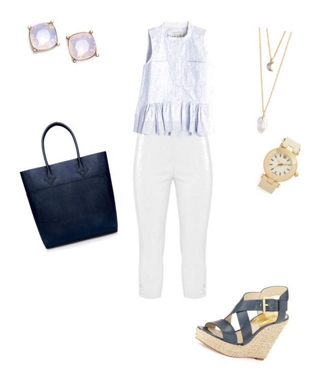 """""""Sin título #319"""" by shary-elivo on Polyvore featuring moda, Twister, Sea, New York, With Love From CA, St. John, Tory Burch, MICHAEL Michael Kors y Rebecca Minkoff"""