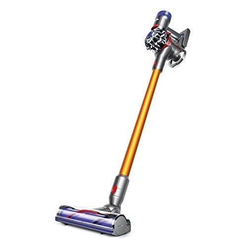 Dyson V8 Absolute Cordless HEPA Vacuum Cleaner  Fluffy Soft Roller and Direct Drive Cleaner Head  Wand Set  Mini Motorized Tool  Dusting Brush  Docking Station  Combination Tool  Crevice Tool
