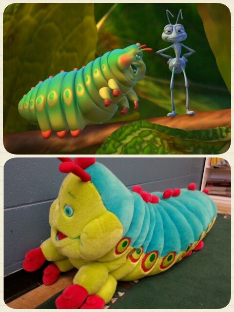 "Heimlich from ""A bug's life"" was in my classroom today!!!!  :D"