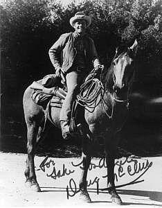 Doug McClure and Little Buck - Stars and Horse Stars